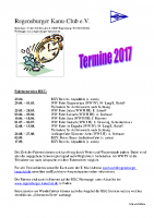 RKC Termine 2017